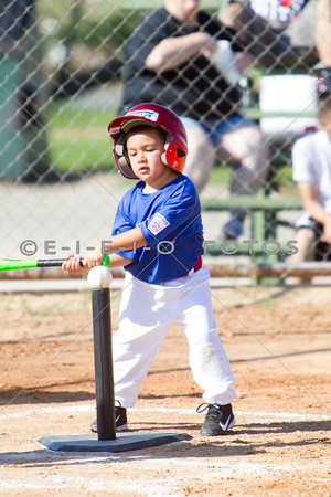 20140531  4 YR T-Ball Rangers vs Astros