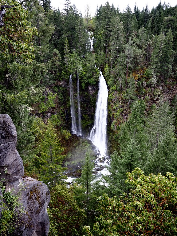Mill Creek Falls Upper Rogue River Trail Oregon