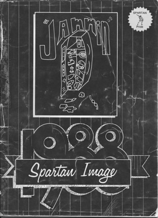1988 John Deere Jr High Yearbook