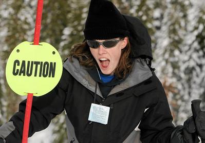 She skis!