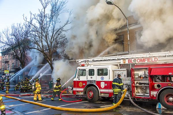 Bloomfield NJ 4th alarm, 55 Washington St. 01-21-20