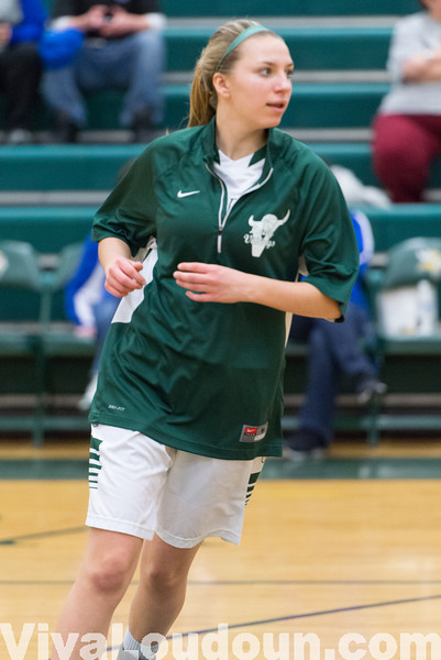 Girls Basketball: Central-Woodstock at Loudoun Valley 2.21.14 (by Chas Sumser)