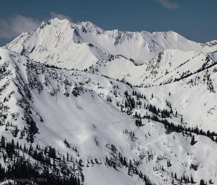 Mount Superior (Elevation: 11,132), Wasatch Range, Utah.