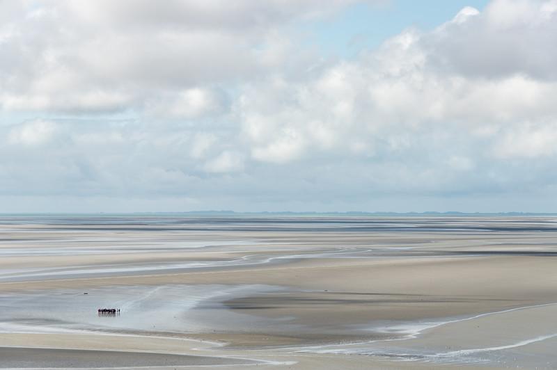 Low Tide - Le Mont-Saint-Michel, France - August 14, 2018