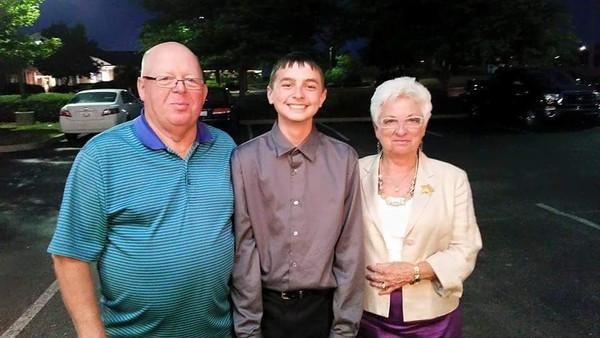 Carson Middle School graduation
