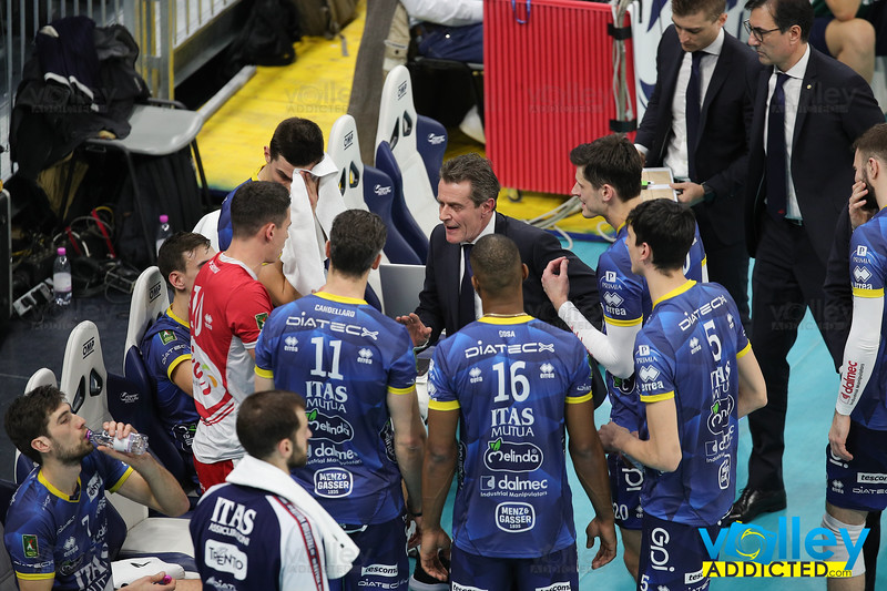ALLIANZ MILANO 0 - ITAS TRENTINO 3 Quarti di Finale - Del Monte Coppa Italia SuperLega 2019/2020 Allianz Cloud - Milano - 23 gennaio 2020