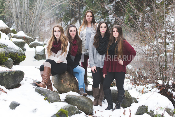 Snow Shoot: Senior Models