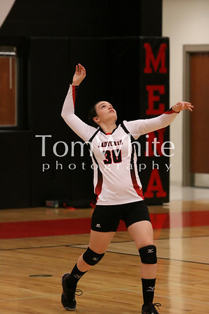 Mena vs Lakeside - LadyCat JV Volleyball 2012
