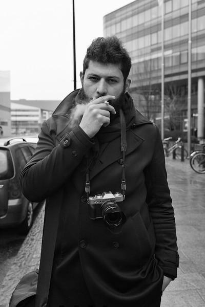 Street Photographer Naser Bayat. Helsinki, 2019.