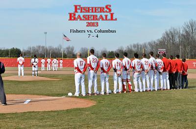 2013 FHS Baseball Varsity