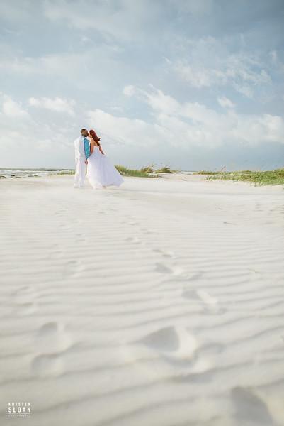 Clearwater Beach Wedding Elopement