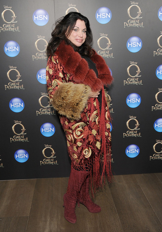". Adrienne Landau attends the ""Oz The Great And Powerful\"" VIP screening at the Crosby Street Hotel on March 5, 2013 in New York City.  (Photo by Jamie McCarthy/Getty Images)"