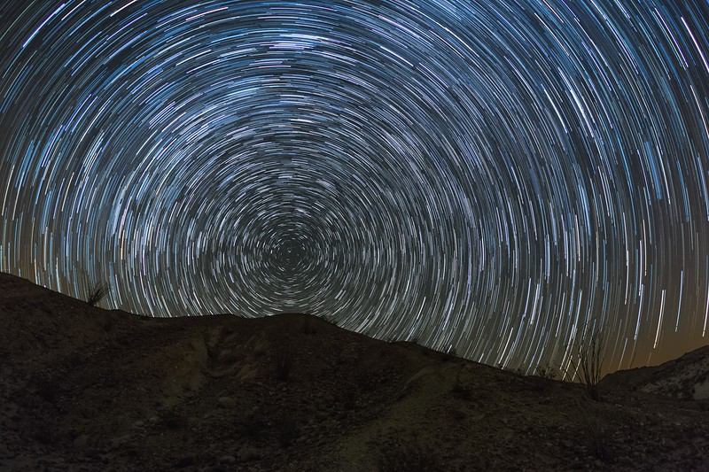 Anza-Borrego Desert Star Trails