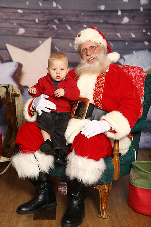 Santa at FotoFink!