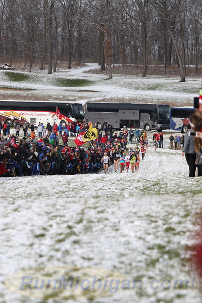 Finish Women - 2018 NCAA D1 XC Championships
