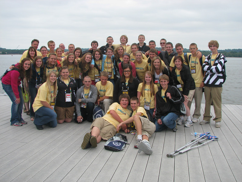 Group shot with the chaperons--Best Bethday EVER!