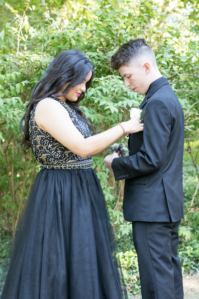 Laura and Nick Prom