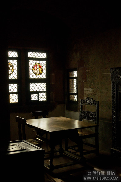 Dining Table in Castle   Photography by Wayne Heim