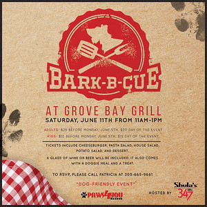Bark-B-Cue at Grove Bay Grill 2016