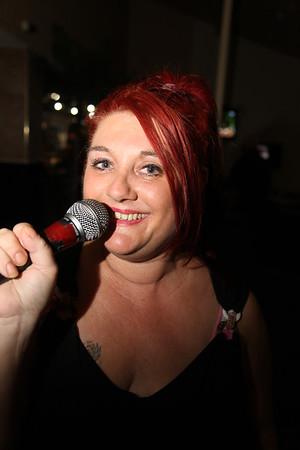 Karaoke sample photographs.