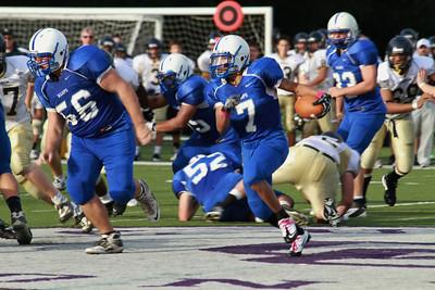 2011 Varsity Football vs Needham