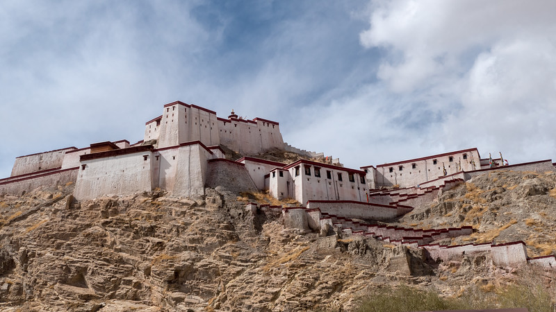Old Castle at Gyantse