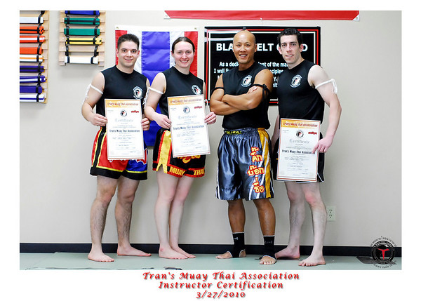 Muay Thai Instructor Certification 3/27/2010