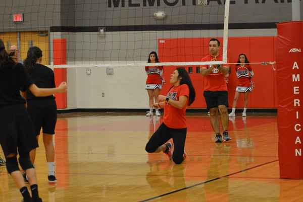 Students vs. Faculty Volleyball Game