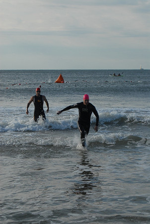 Ocean Community YMCA Triathlon  2012 Swim