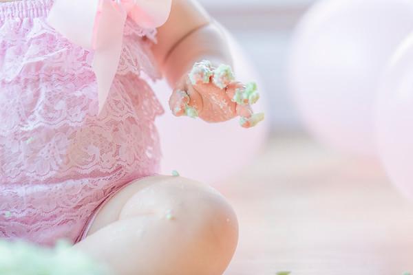 Birthday Cake Smash: Baby E's 1st Birthday
