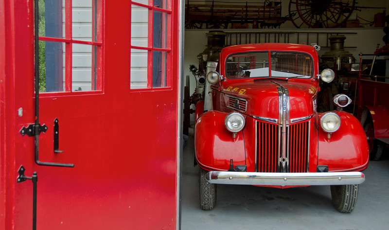 Fire house museum, Dawson City, YT.