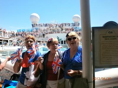 Barbara's Mediterranean Cruise June 2012