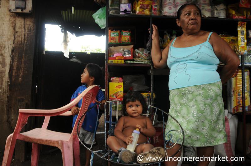 Queen in her Chair - Masaya, Nicaragua