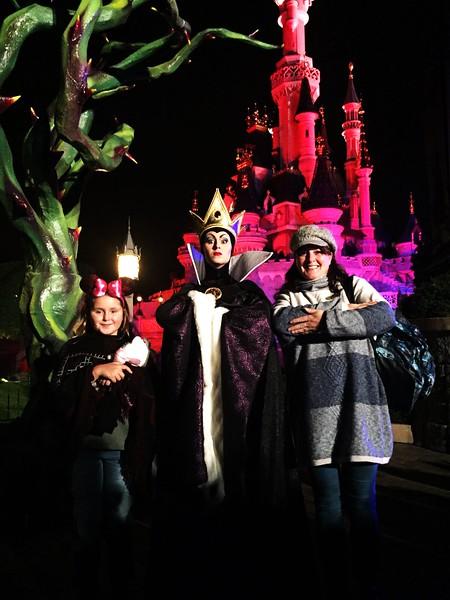 The Evil Queen & Sleeping Beauty's Castle