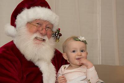 Meghan and Matt's Family Photos with Santa
