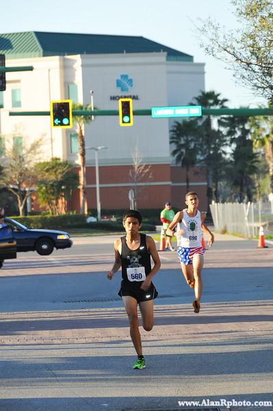 Finish 1 - Fun Run 2014