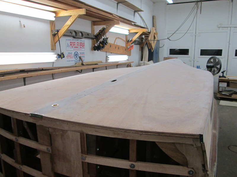 Rear port view of sanded epoxy.