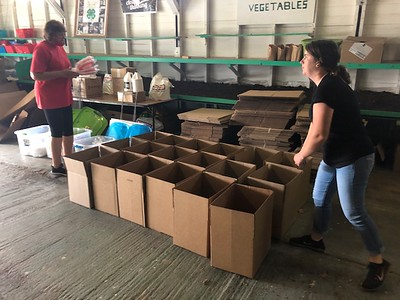 Container Garden Kit Distribution