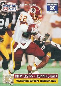 1991 Pro Set Super Bowl XXVI