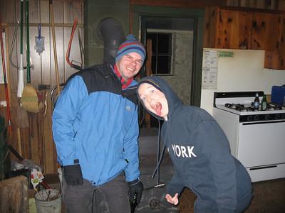 Shairer Cabin Winter Camping Trip 2008