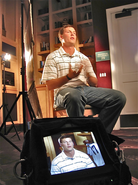 Interview segment with Philip Rivers--San Diego Chargers Quarterback