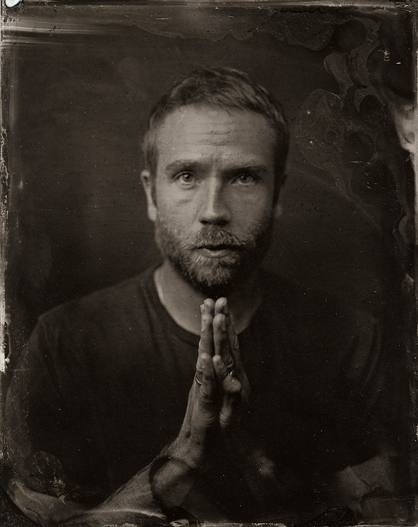 . Mark Weber poses for a tintype (wet collodion) portrait at The Collective and Gibson Lounge Powered by CEG, during the 2014 Sundance Film Festival in Park City, Utah. (Photo by Victoria Will/Invision/AP)