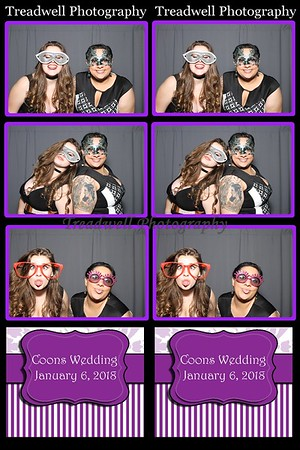 Coons Wedding - Photo Booth