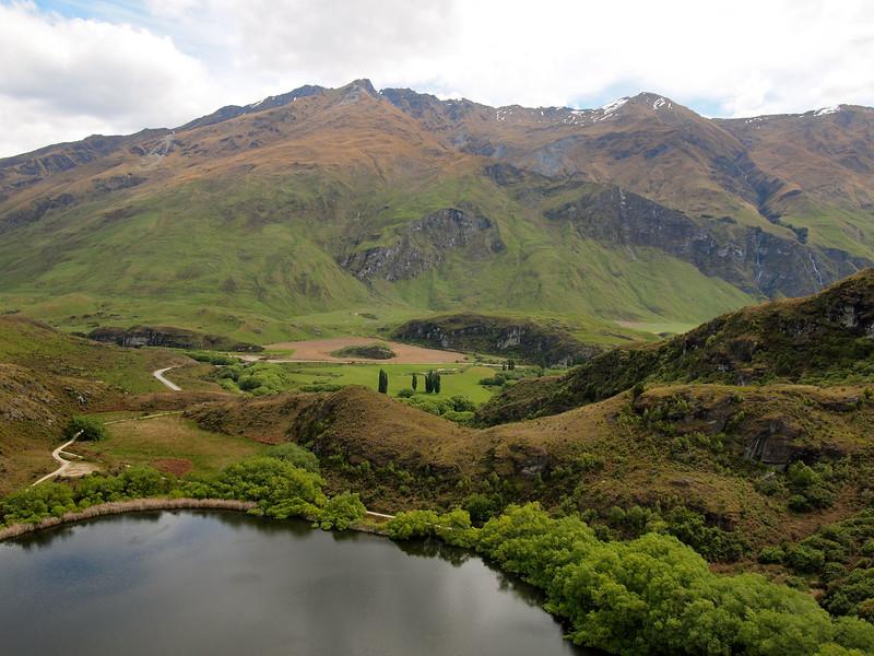 Rocky Mountain Track in Wanaka, New Zealand