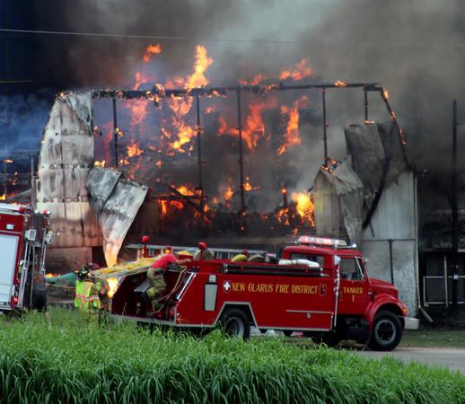 Barn Fire July 27 2011