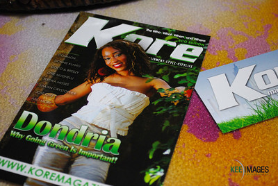 "Kore Magazine's ""The Eco Edition"" hosted by R&B singer, Dondria"