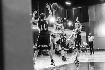 RCS Varsity Girls Basketball vs CP - 01.14.2014