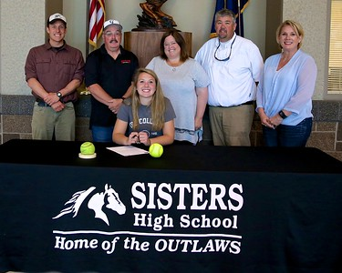 Haylie Hudson Signs With The College Of Idaho 6-02-15
