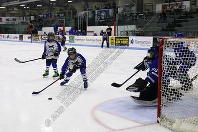 02/08/19 Squirts Watertown Blue vs Oswego @ Watertown Arena
