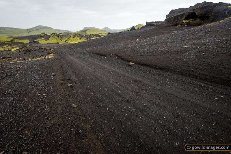 Road 214 near Þhakgil